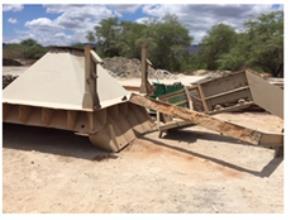 Sucata de Aço Comum Graúda aprox. 400 ton retirada imediata e 400 ton a gerar em 06 meses