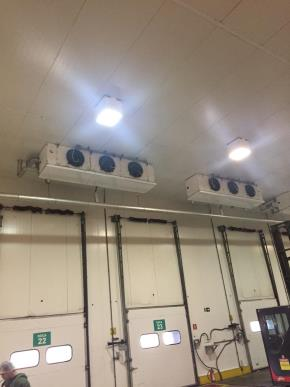 Isopainel, Evaporadores Teto, Portas tipo guilhotina, Portas Automáticas