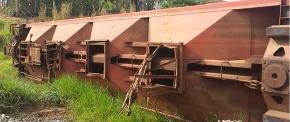 Sucata de Vagões Ferroviários aprox. 90 ton